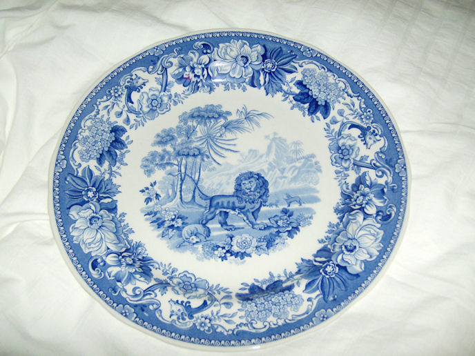 Reproduction Spode Dinner Plate Aesopu0027s Fables ... & Cu0026J » Dinnerware. (2 of 2.)