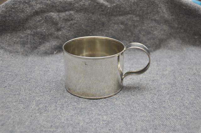 Small Tin Cup